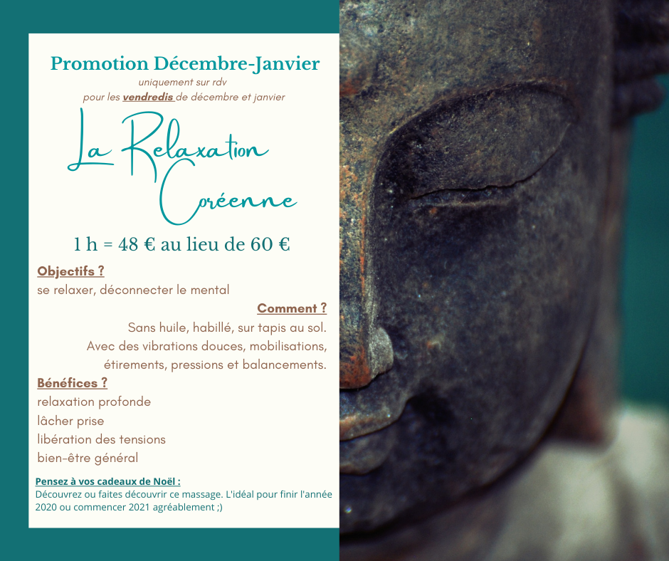 Promotion relaxation coreenne