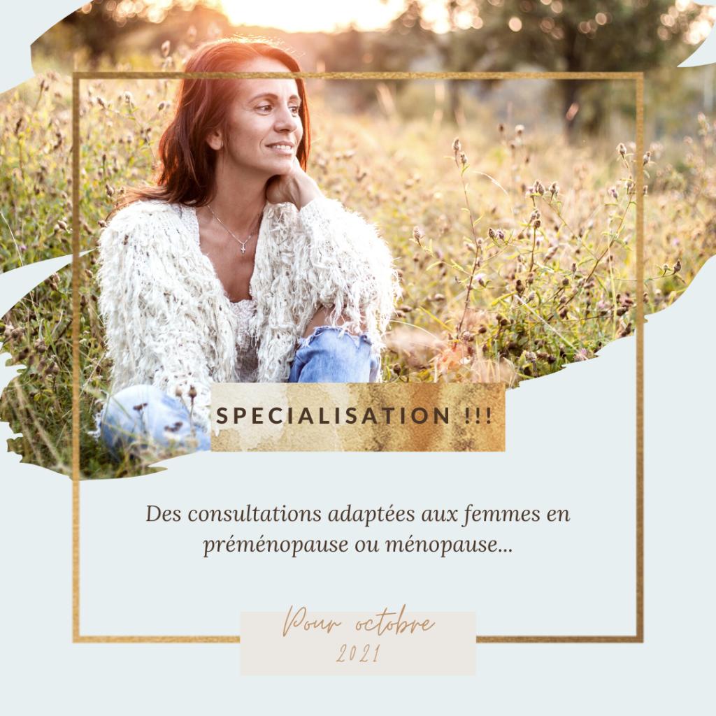 specialisation menopause